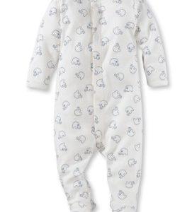 Baby SCHLAFOVERALL AUS REINER BIO-BAUMWOLLE